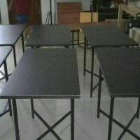 meja lipat cafe meja bazar meja makan meja murah tahan panas