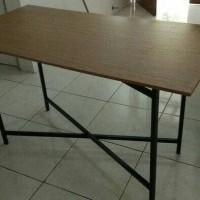 meja lipat cafe meja bazar meja makan meja murah tahan panas dan air