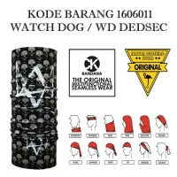 Ck Bandana 1606011 watch dog / Wd dedsec Masker Multifungsi kupluk