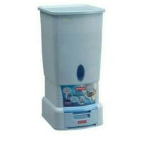 KHUSUS GOJEK-Vella Rice Box Lion Star 28Kg /Tempat  Penyimpanan Beras