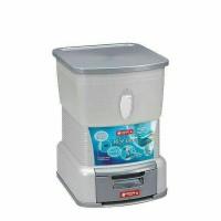 Vella Rice Box Lion Star 14kg / Kotak penyimpanan Beras Lion Star 14kg