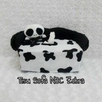 Tempat cover box kotak tissue tisu mobil boneka nbc jack nightmare