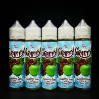 Premium Liquid Grappy Grape Apple Juice CMW Murah E Vape Vaping Vapor
