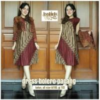 Dress Batik Bolero Parang. Puspa Kencana Batik.
