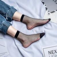 Kaos Kaki Cosplay Jaring Wanita Fishnet Socks Aksesoris Korea Style