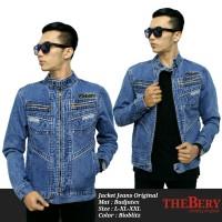 Jaket Jeans Original THE BERY  Bioblitz 19 - L XL XXL
