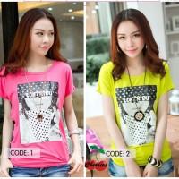 [blus qintaru DR] blouse wanita spandek pink dan kuning