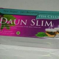 Teh Celup Daun Slim (Teh Hijau + Jati Belanda) Teh Pelangsing