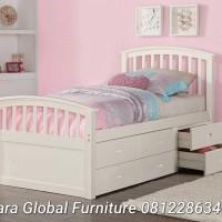 dipan tempat tidur anak laci 6 (ranjang anak,kamar set,sofa,kamar set)
