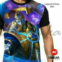 kaos mobile legend 3d fullprint estes