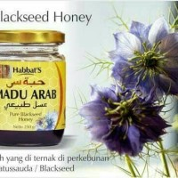 Original Habbat Black Seed Honey Madu Jinten Arab 250gr