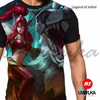 kaos mobile legend 3d fullprint irithel