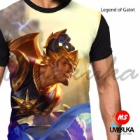 kaos 3d full print mobile legend