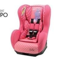 ELLE CAR SEAT PINK HIPPO