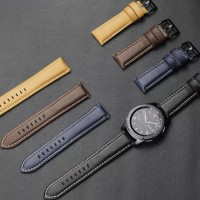 Samsung Gear s3 Classic frontier leather strap kulit