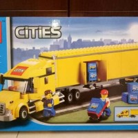 lego city series compatible lepin 02036 the truck
