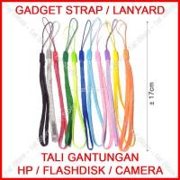 Gadget Strap Gantungan Tali Lanyard Handphone HP USB Flashdisk Camera