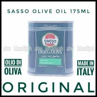 minyak zaitun sasso 175ml kaleng olive oil 175 ml