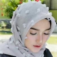 Hijab segiempat/jilbab segiempat RUBIYA SQUARE (PROMO)