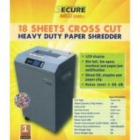 SECURE MAXI 3180CC / Mesin Alat Penghancur Kertas / Paper Shredder