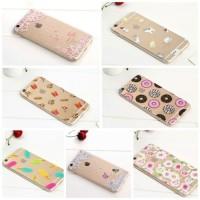case casing silicon iphone hp 6 6s 7 + plus cute unik lucu butterfly