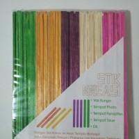 Stik Es Krim Kayu (warna)