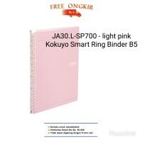 JA30.L-SP700. KOKUYO SMART RING BINDER B5- LIGHT PINK