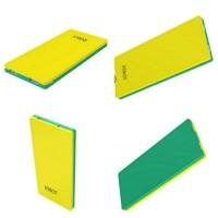 Robot RT9100 2 USB ports 9000mAh powerbank Yellow + Green