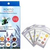 Nokito Mosquito Repellent Patch Stiker/Sticker Anti Nyamuk