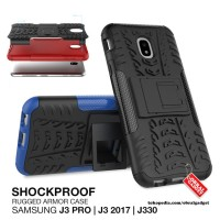 Armor Case Samsung Galaxy J3 Pro 2017 J330 Shockproof Hybrid Hard Soft
