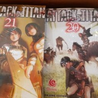 Komik Attack on Titan vol 3-24 lengkap segel