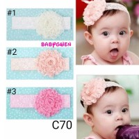 bando bayi dan anak headband lace