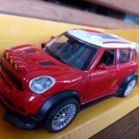 Miniatur Diecast Mini Copper Rally/balap series light and sound