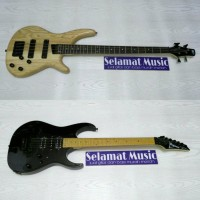 Bass SDGR Natural Dan Gitar Listrik Ibanez RG350 Balck