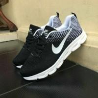 Sepatu Nike Zoom Vegasus Sneakers Olahraga Hitam