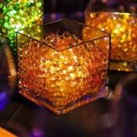 Hidrogel Orange Glow In The Dark Hydrogel Oren Media Tanaman Hias Unik
