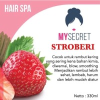 (Dijamin) My Secret - Hair Spa Strawberry - Masker Rambut