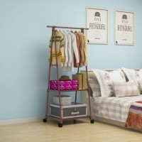 triangle stand hanger -lemari baju -rak baju minimalis -gantungan baju