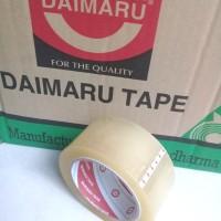 Lakban Bening 2 Daimaru Tape Transparan