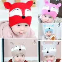 Topi Kupluk Anak Bayi Lucu Motif Tikus H399 Laki Perempuan