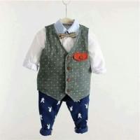 sale setelan vest formal anak laki