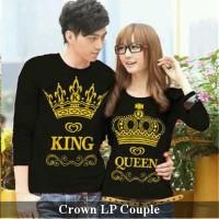 kaos lengan panjang | kaos couple | jual kaos murah | kaos crown lp