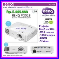 Projector BenQ MX528 XGA HDMI (New, Baru, Garansi Resmi) DLP Proyektor