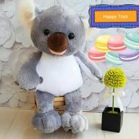 Boneka Koala Albino