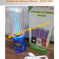 BEST SELLER!!! Speaker Air Mancur USB/SD Card + FM Radio - FLECO Z301