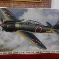 HASEGAWA 1/48 21st KOKUSHO A6M2-K ZERO FIGHTER TRAINER TYPE II