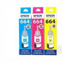 Tinta Epson Original 664 Colour For L360,L380,L385,L480.L485,L565 T664