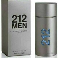 Parfum Ori Eropa nonbox Carolina Herrera 212 Men EDT 100ml