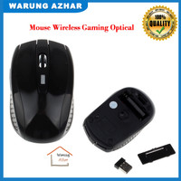 Mouse Wireless Gaming Optical 2.4GHz - Black