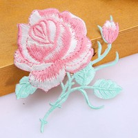 embroidery iron applique patch